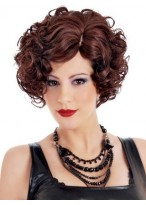 Christina Side Swept Synthetic Wig