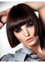 Fashionable Straight Capless Synthetic Wig