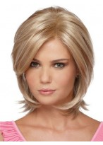 Vivid Layered Synthetic Wig
