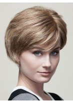 Wonderful Straight Capless Synthetic Wig