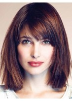 Classic Capless Straight Synthetic Wig