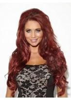 Long Luxury Synthetic Half Wig
