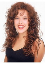 Perfect Wavy Capless Long Synthetic 3/4 Wig