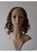 Shoulder Length Spiral Curls U Part Wig