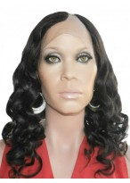 Spiral Curls Remy Human Hair U Part Wig